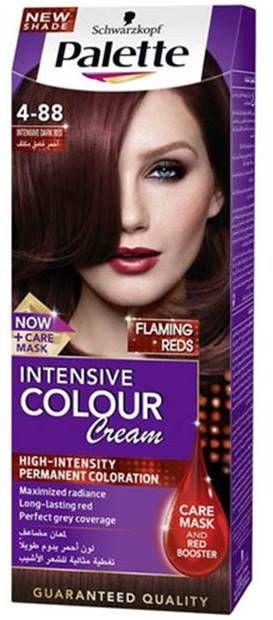 اجدد كتالوج صبغة شعر باليت بدون امونيا السعر و درجات اللون Newest Catalog Of Palette Hair Color Without Ammonia Price Hair Color Red Mask Color