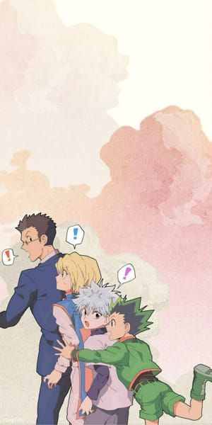 Anime Wallpaper Phone, Anime Scenery Wallpaper, Hero Wallpaper, Locked Wallpaper, Lock Screen Wallpaper, Hunter X Hunter, Hunter Anime, Killua, Hisoka