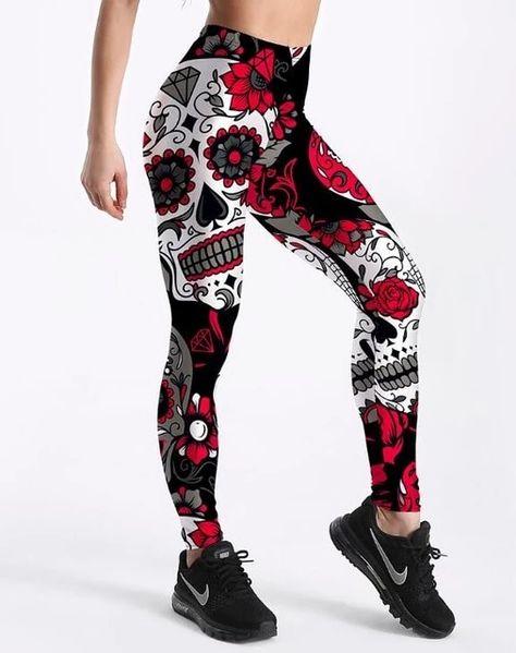 08c9b0eefb Women Pants Women Leggings Fitness Workout Long Skin Pants Trousers ...
