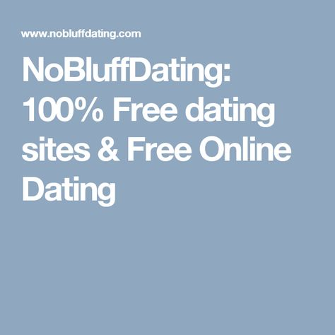 free online dating no money needed