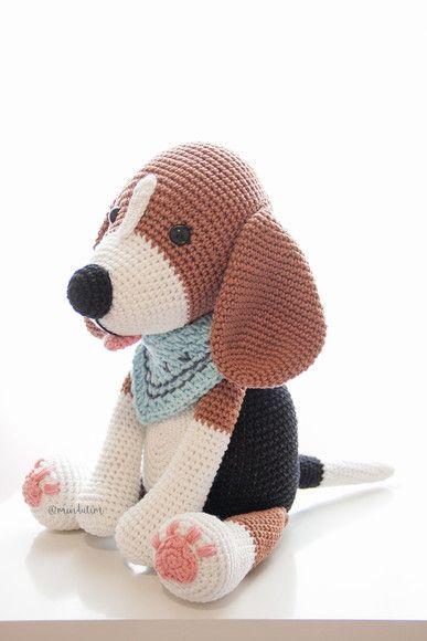 Amigurumi - Tiguinho, o Cachorrinho - Receita Gratuita | Urso de ... | 580x387