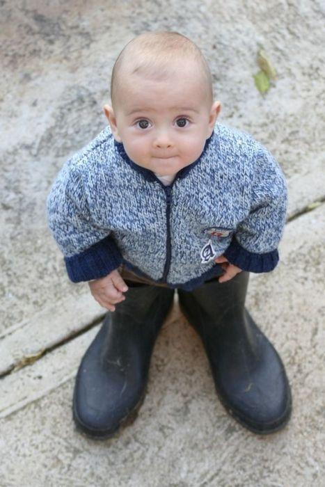 baby #cute #sweet #big shoes | Naughty