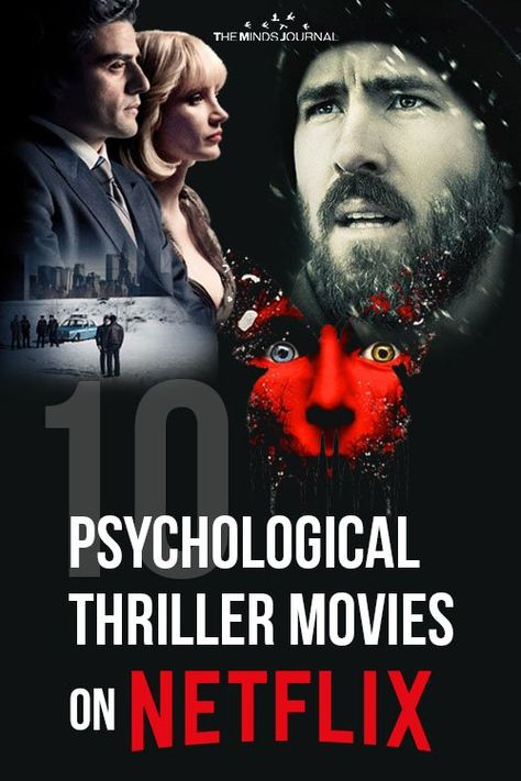 The more unexpected the surprise, the greater the thrill. These psychological thrillers are sure to be some food for thought Netflix Movies To Watch, Good Movies On Netflix, Movie To Watch List, Tv Series To Watch, Good Movies To Watch, Netflix Horror, Most Watched Movies, Movies To Watch Teenagers, Action Movies To Watch