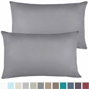 1200 Series Pillowcases 2 Pillow Cases Per Set King Size Standard Size Sale Ebay Pillows Pillow Cases King Size