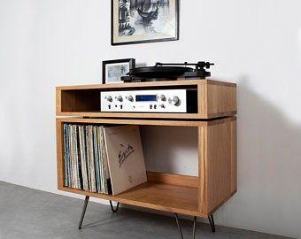 Stockage D Enregistrement De Vinyle Cabinet De Joueur D