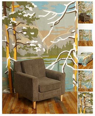 Before U0026 After: Paint By Number Wall Mural | Wall Murals, Apartment Therapy  And Walls Part 15