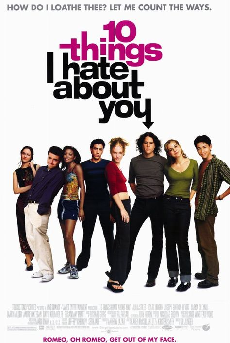 Ten Things I Hate About You (1999) 11x17 Movie Poster - Walmart.com