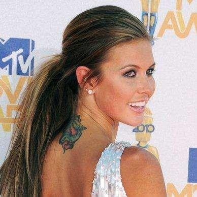 Audrina Patridge of MTV's