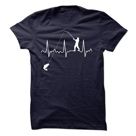 Fishing Heartbeat Shirt T Shirt, Hoodie, Sweatshirt