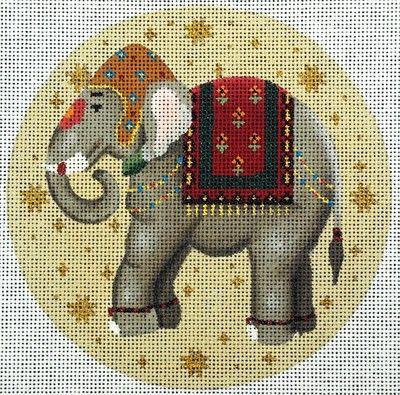 Painted Needlepoint Handpainted Needlepoint Designs Elephant Needlepoint Needlepoint Canvases Needlepoint Elephant Needlework Elephants