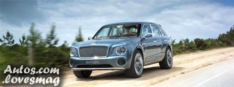 Schöne Bentley SUV (Falcon / EXP 9 Fluor) wird im ersten Quartal 20eingeführt