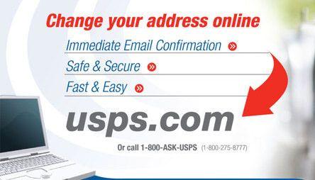 Best Usps Change Of Address Images On   Mail Station