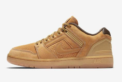 01521018f2e Nike SB s Air Force 2 Gets the  Wheat  Treatment