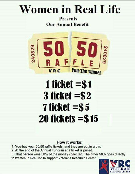 50 50 raffle flyer template fundraising pinterest flyer