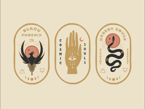 Mystical badges