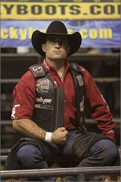 Love his forearm.    Actually any bull riders forearm....PBR anyone??