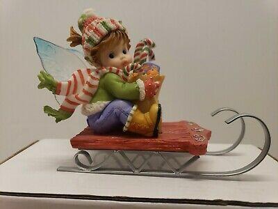 Enesco Little Kitchen Fairies Holiday Shopper Fairy 2008 Ebay