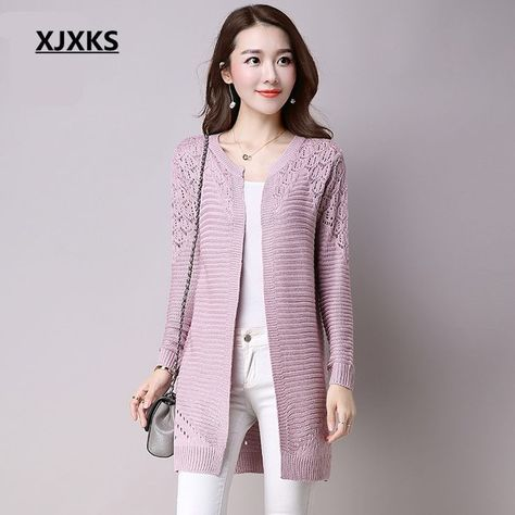 XJXKS New 2018 Autumn Korean Style Women's Sweater Long-sleeve Female Fashion