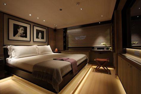exklusive luxus yachten kahalani deckengestaltung panoramablick, Innenarchitektur ideen