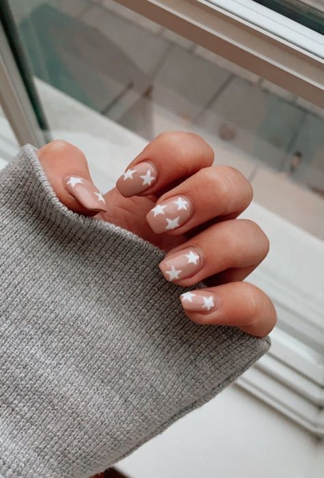 144 why i paint my own nails tips for the best at home manicure 5 Aycrlic Nails, Star Nails, Coffin Nails, Hair And Nails, Stiletto Nails, Star Nail Art, Matte Nails, Teen Nails, Nail Manicure