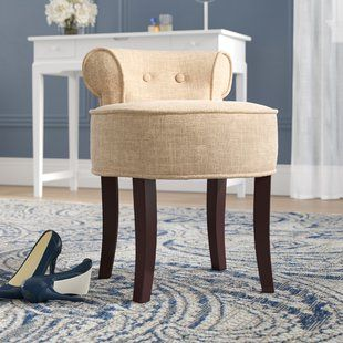 Vanity Stools Birch Lane Vanity Stool Wood Vanity Oversized