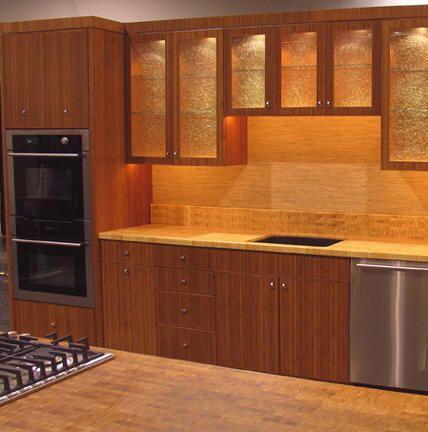 Bamboo Kitchen Cabinets Newcreationshomeimprovements