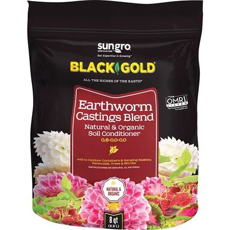 Black Gold Organic Compost 1 Cu Ft Organic Compost Garden Compost Potted Plants Outdoor