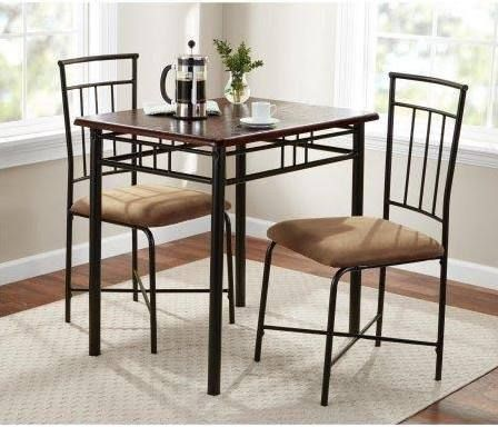 Small Table With Chairs Small Kitchen Furniture Metal Dining