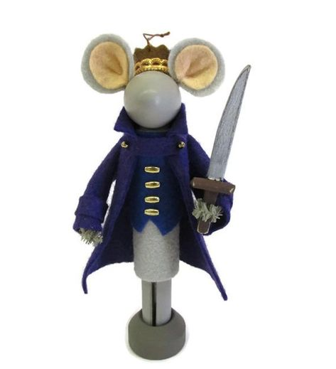Mouse King Christmas Ornament, Clothespin Ornament, Nutcracker ballet, Clothespin Doll, Ornament Exchange, Nutcracker collector, Peg Doll