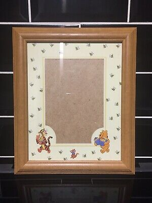 Details About Winnie The Pooh Wooden Photo Frame 10 X 12 In 2020 Wooden Picture Frames Wooden Picture Picture Frames
