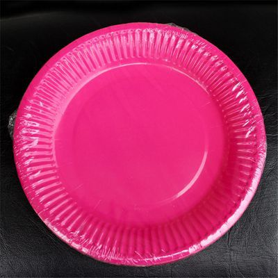 10 pcs Festival Disposable Paper Plates For Parties Birthday Wedding Halloween Supplies Multi Candy Color Paper Plates | Products | Pinterest | Halloween ... : pink disposable plates - pezcame.com