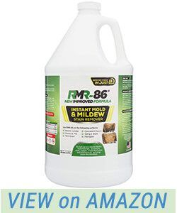 Rmr 86 Instant Mold Stain Mildew Stain Remover 1 Gallon Review Mildew Stains Stain Remover Cleaning Vinyl Siding