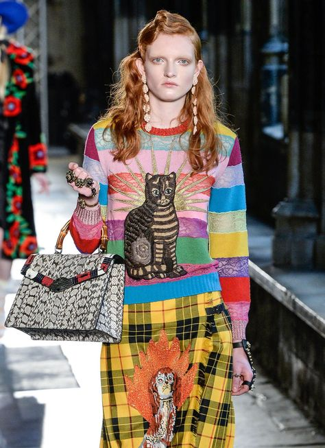 But did they ever really go away? Cats are everywhere on the, ahem, catwalks this season.
