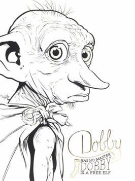 Nice Coloring Page Dobby Free Elf On Kids N Fun Dobby Harry Potter Harry Potter Colors Harry Potter Drawings