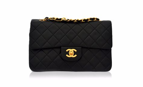 289733d205f631 CHANEL VINTAGE BAG - Classic 2.55 Double Flap from Vintage District -  Authentic vintage designer bags UK