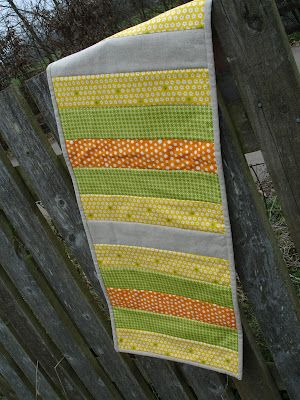 {Sew} Get Started: Quilted Table Runner Tutorial