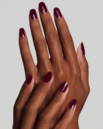 10 Nail Polish For Dark Skin Tones To Compliment The Beauty Nail Desing In 2020 Maroon Nail Polish Maroon Nails Nail Colors