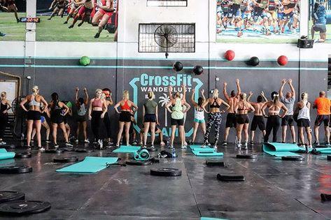 The Largest Crossfit In Bali Crossfit Wanderlust Crossfit Fitness Center Design Crossfit Gym