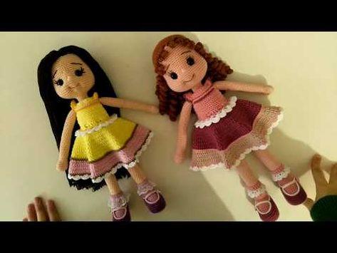 Amigurumi Rengarenk Bebek Elbisesi Yapımı - Örgü Modelleri   355x473