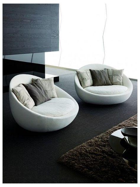 Sofa Set Designs, Modern Sofa Designs, Round Swivel Chair, Couch Furniture, Sofa Chair, Furniture Design, Chaise Couch, Sofa Cushions, Sofa Tables
