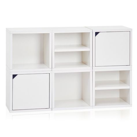 Connect 6 Cube White Pre Order Ships 10 26 Cube Storage Shelves Modular Storage Cube Storage