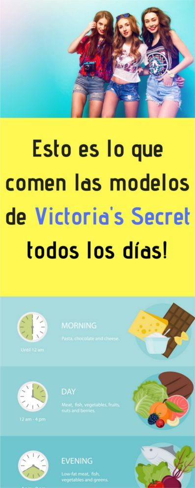 Dieta Victoria Secret Para Adelgazar Rapidamente Con