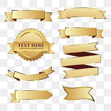 Cintas Dorado Dialogo Burbuja De Discurso Png Y Vector Para Descargar Gratis Pngtree Ribbon Png Vintage Ribbon Banner Gold Ribbons