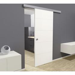 Kilsgaard Wooden Sliding Door Lines 935 X 2 050 Mm White Medium