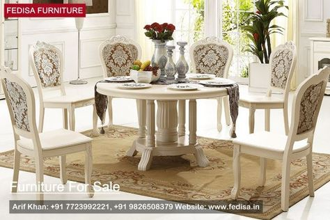 Luxury Dining Table Set Classic Dining Room Furniture Classic