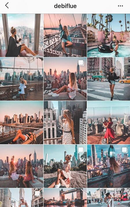 45 Best Instagram Theme Ideas & How To Create Them  #RePin by AT Social Media Marketing - Pinterest Marketing Specialists ATSocialMedia.co.uk