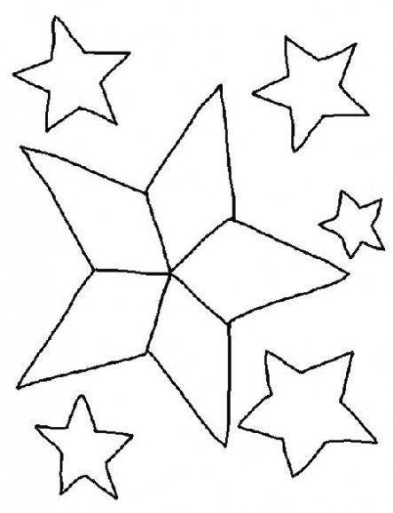 Estrellas De Navidad Para Colorear Estrellas De Navidad Colores De Navidad Dibujos De Navidad Faciles