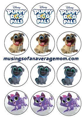 Puppy Dog Pals Invitations Cumpleanos De Perro Cumpleanos Del
