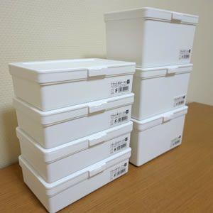 100均セリア フタがとまるケースs M の収納アイデア 活用法をブログレポート 収納 アイデア インテリア 収納 キッチンペーパー 収納