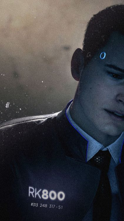 25+ Phone Wallpaper Phone Wallpaper Connor Detroit Become Human PNG
